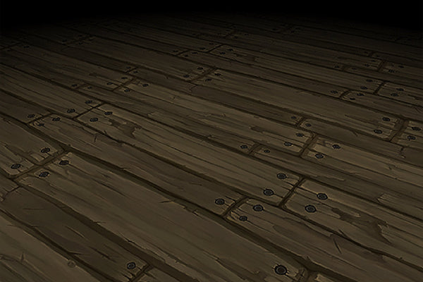 Textures - Wood Floor Porch Boards Hand Painted Texture