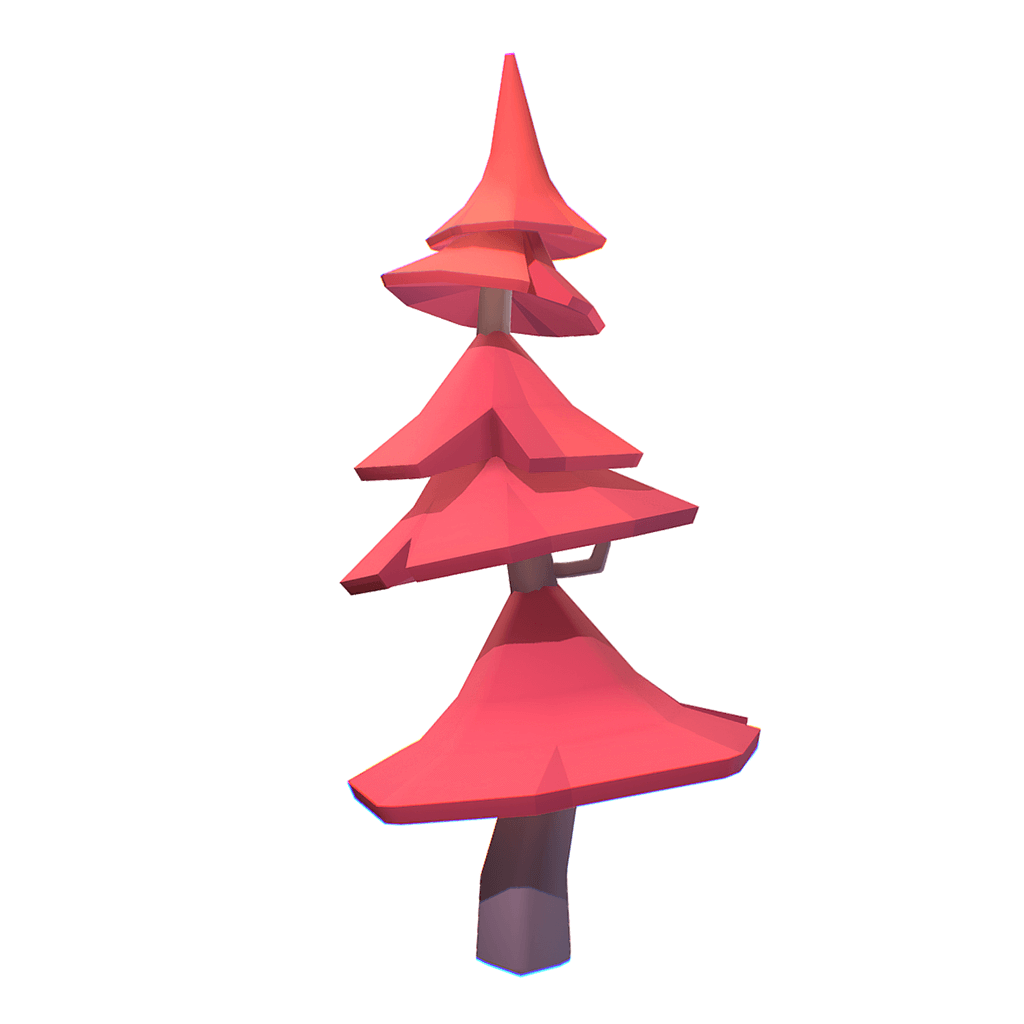 Pine Tree | Low Poly Proto Series | Free Download – Bitgem