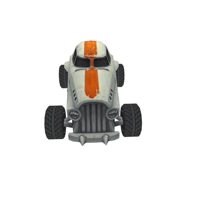 Vehicles  - Low Poly Hot Rod 05