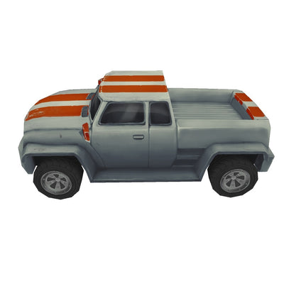 Vehicles  - Low Poly Pickup Truck 03