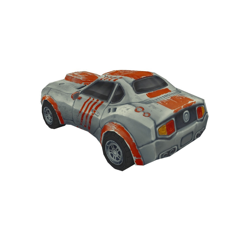 Vehicles  - Low Poly Racing Car 01