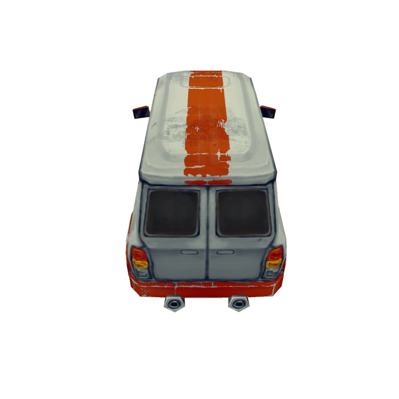 Vehicles  - Low Poly Van 02