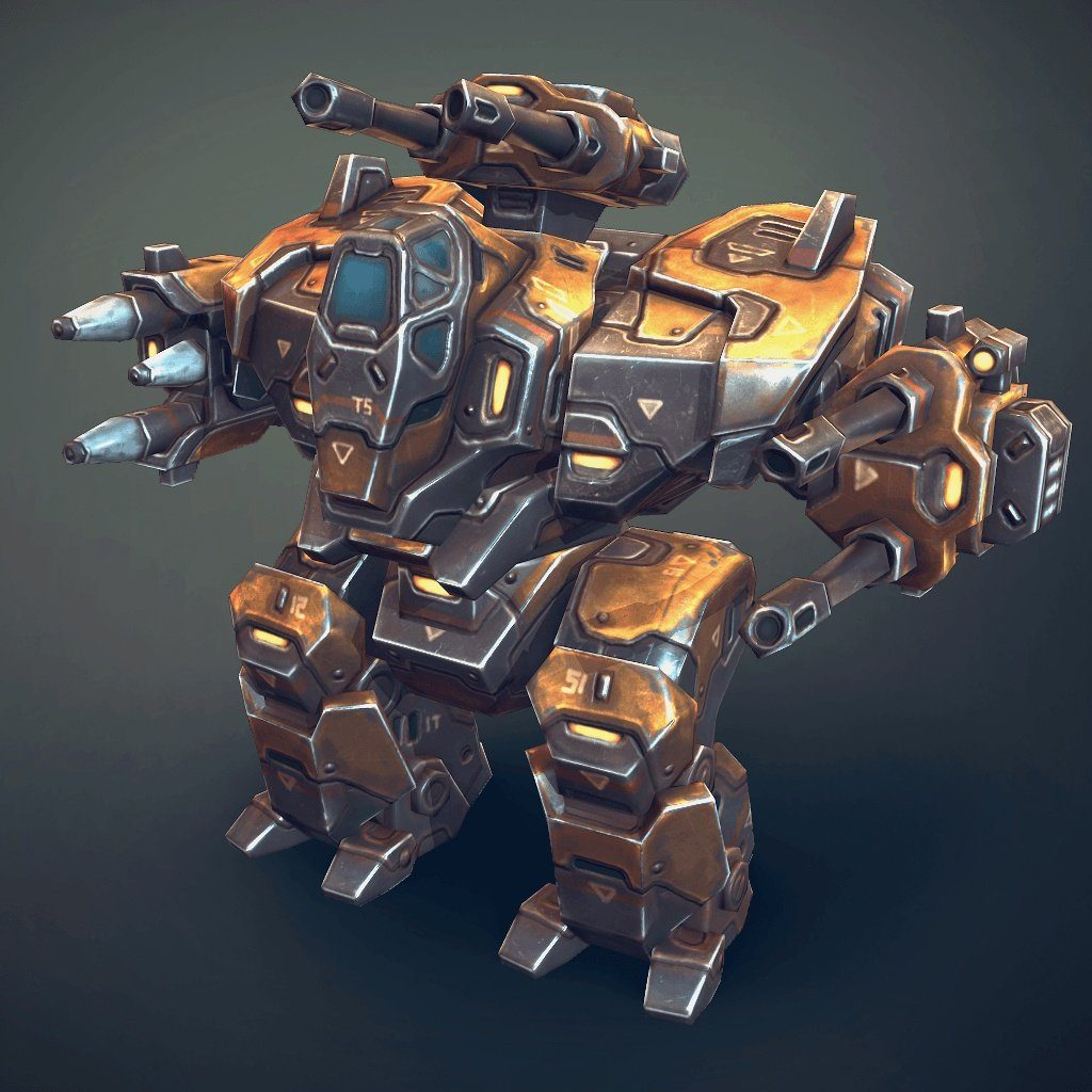 Vehicles - Mech Constructor Heavy - Slava Z.