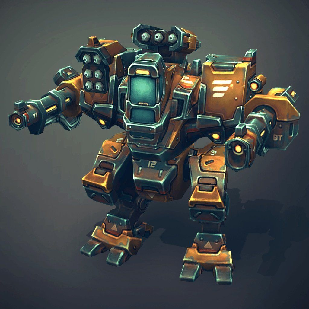 Vehicles - Mech Constructor Light Med - Slava Z.