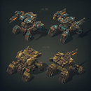 Vehicles - Mech Constructor Spiders - Slava Z.