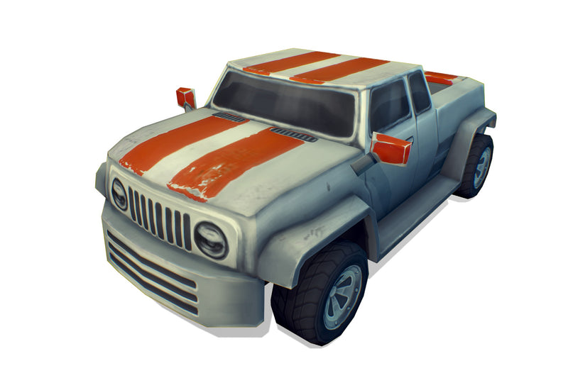 Vehicles  - Pickup Truck Low Poly