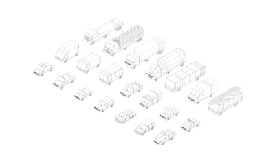 Vehicles - Polygonia City Cars Pack - ANTON MOEK