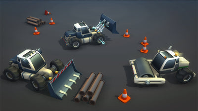 Vehicles - Toon Vehicles - SICS Games