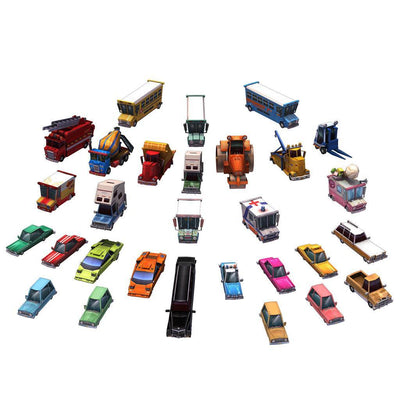 Vehicles - Urban Car Set