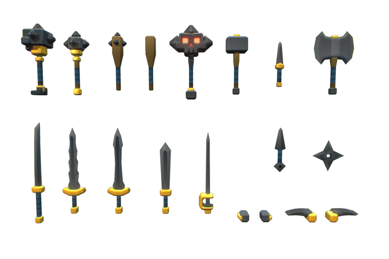 Basic Weapon Set - Proto Series