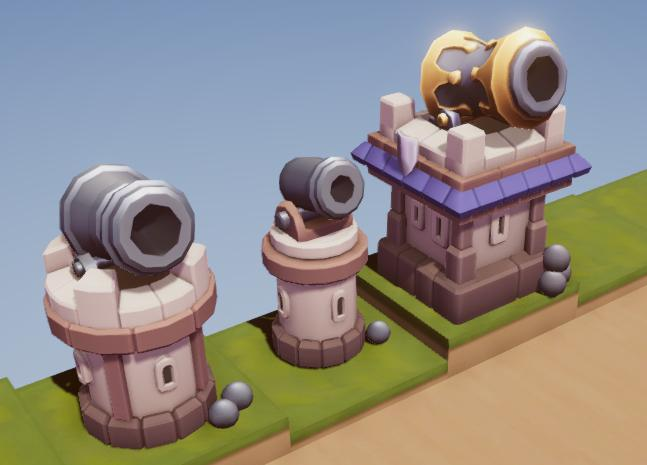 Weapons - Human Cannon Pack - Tower Defence