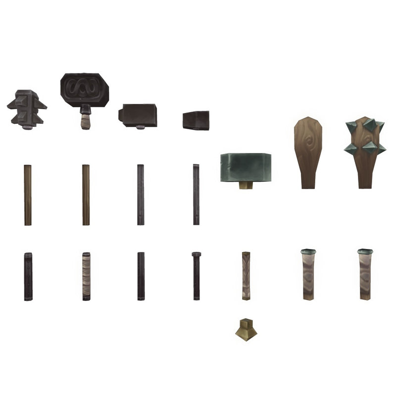 Weapons - Low Poly Modular Melee Weapon Set