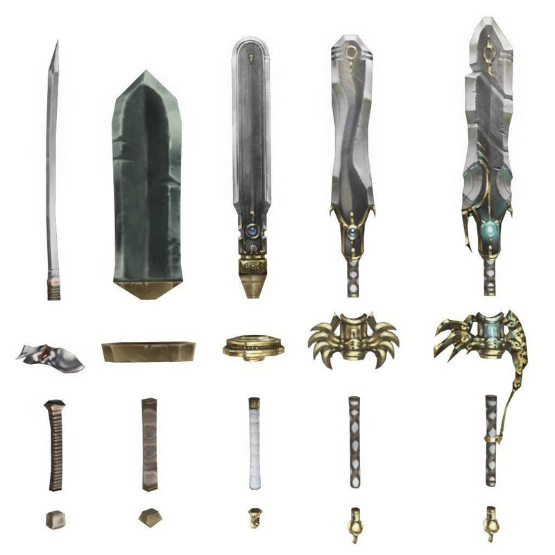 Weapons - Modular Sword Weapon Set