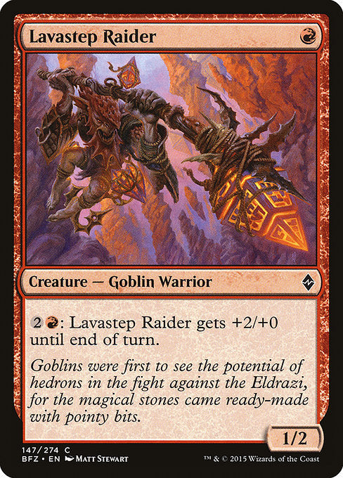 Lavastep Raider [Battle for Zendikar] | Gear Gaming Bentonville