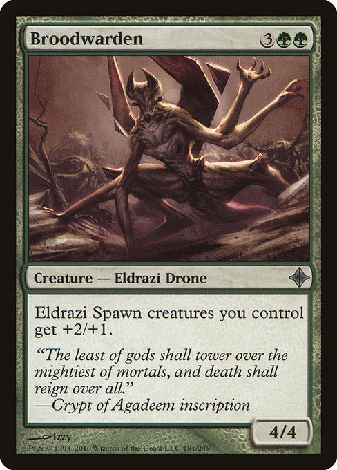 Broodwarden [Rise of the Eldrazi] | Gear Gaming Bentonville