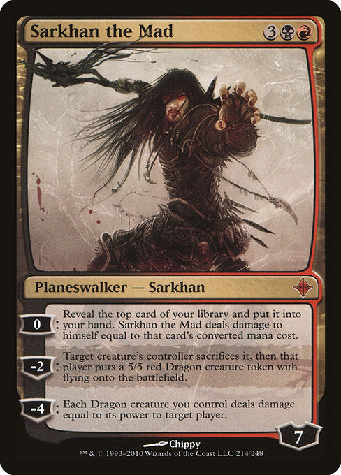 Sarkhan the Mad [Rise of the Eldrazi] | Gear Gaming Bentonville