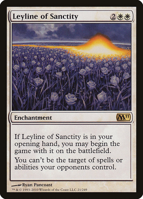 Leyline of Sanctity [Magic 2011] | Gear Gaming Bentonville