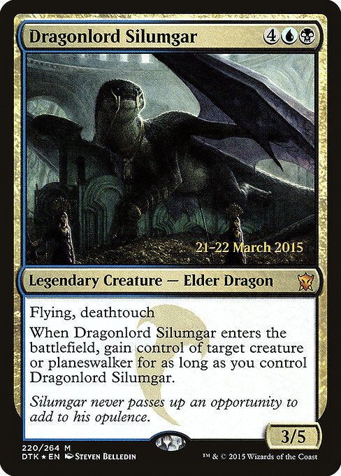 Dragonlord Silumgar [Prerelease Cards] | Gear Gaming Bentonville