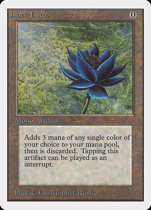 Black Lotus [Unlimited Edition] | Gear Gaming Bentonville