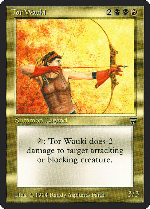 Tor Wauki [Legends] | Gear Gaming Bentonville