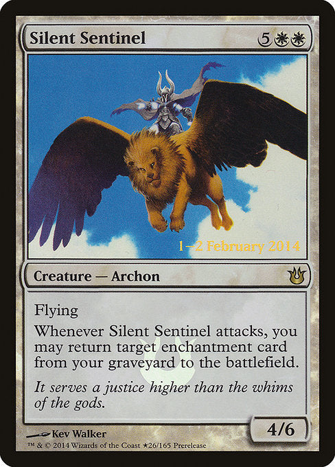 Silent Sentinel [Prerelease Cards] | Gear Gaming Bentonville
