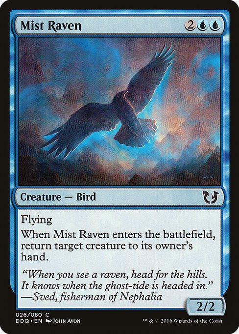 Mist Raven [Duel Decks: Blessed vs. Cursed] | Gear Gaming Bentonville