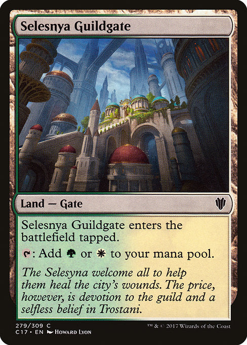 Selesnya Guildgate [Commander 2017] | Gear Gaming Bentonville