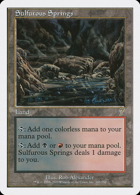 Sulfurous Springs [7th Edition] | Gear Gaming Bentonville
