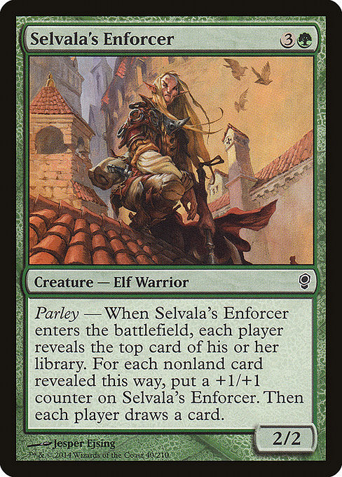 Selvala's Enforcer [Conspiracy] | Gear Gaming Bentonville