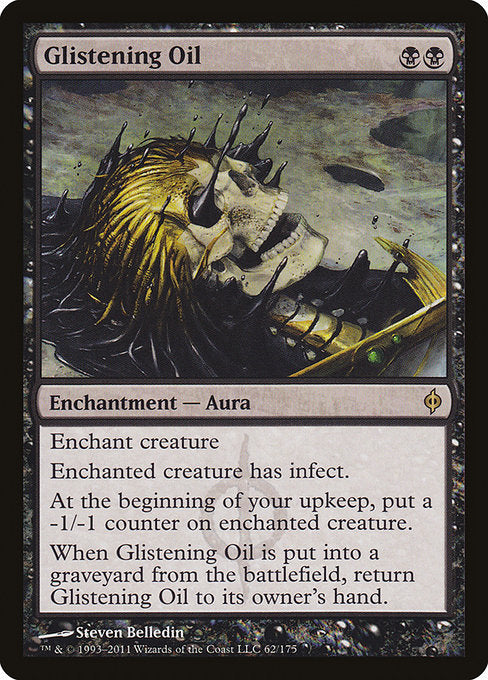 Glistening Oil [New Phyrexia] | Gear Gaming Bentonville