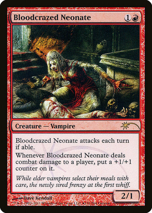 Bloodcrazed Neonate [Wizards Play Network 2011] | Gear Gaming Bentonville