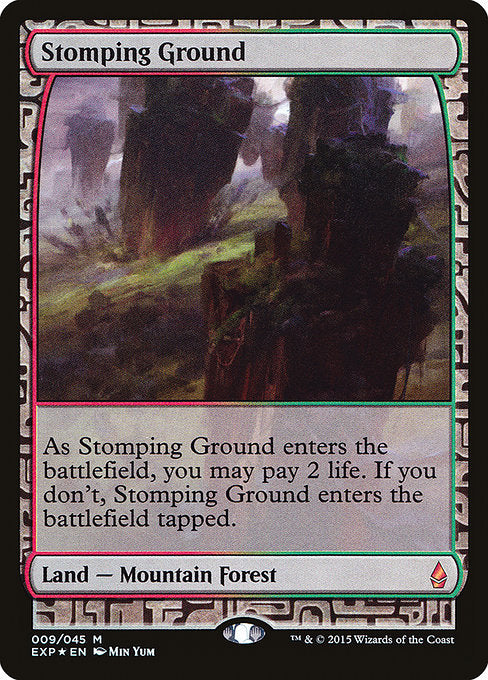 Stomping Ground [Zendikar Expeditions] | Gear Gaming Bentonville