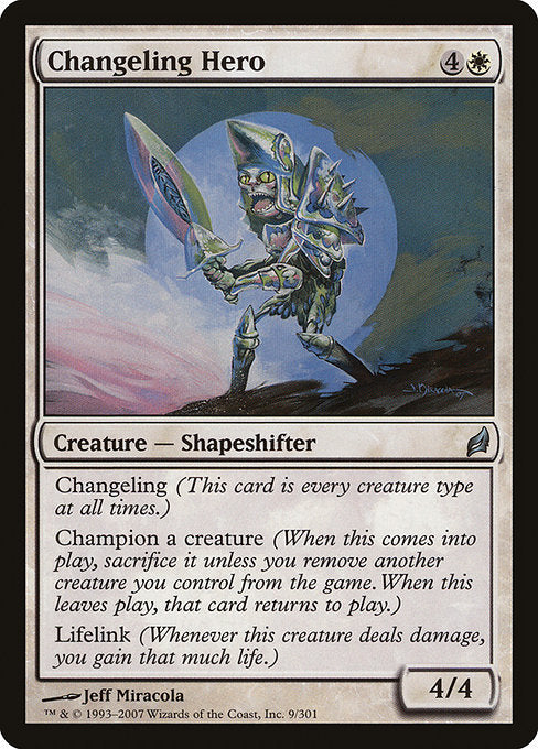 Changeling Hero [Lorwyn] | Gear Gaming Bentonville