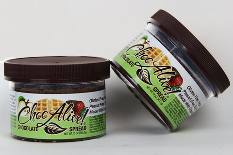 Chocolate Spread, Delectable Duo: Two 10 oz jars