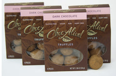 Dark Chocolate Truffles, 4 Box Set