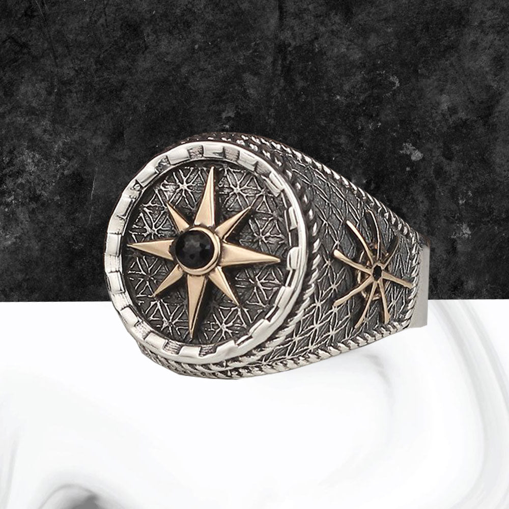 925 Sterling Silver Men's Ring