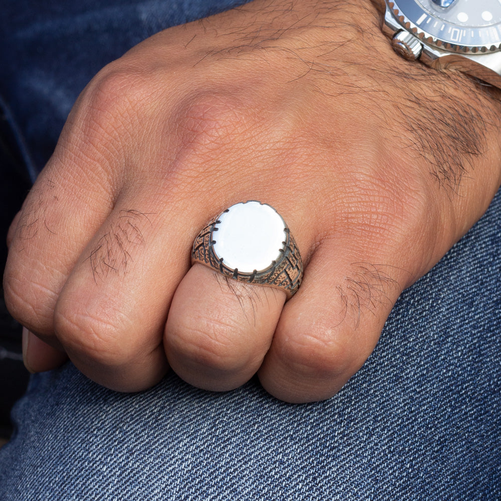 Cukur Ring in 925s Silver