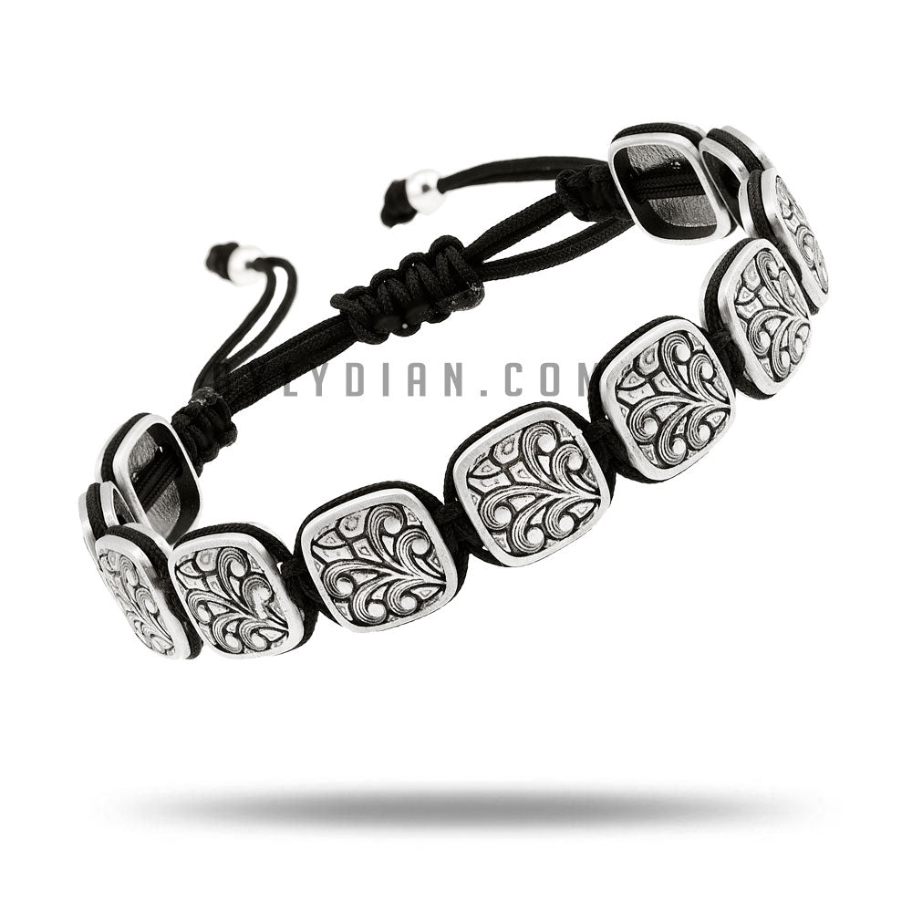 by LYDIAN Heren Armband 925s Zilveren NLTB064_B