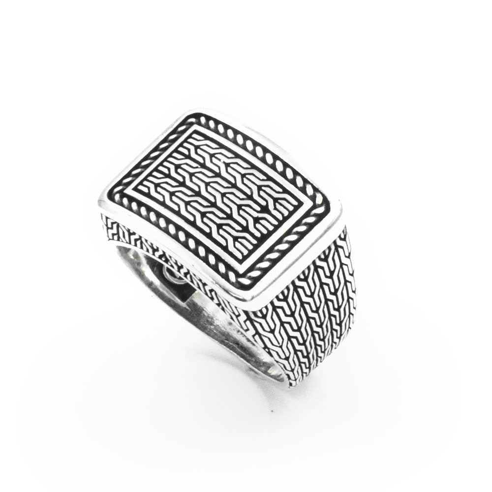 925 Sterling Silver Signet Ring