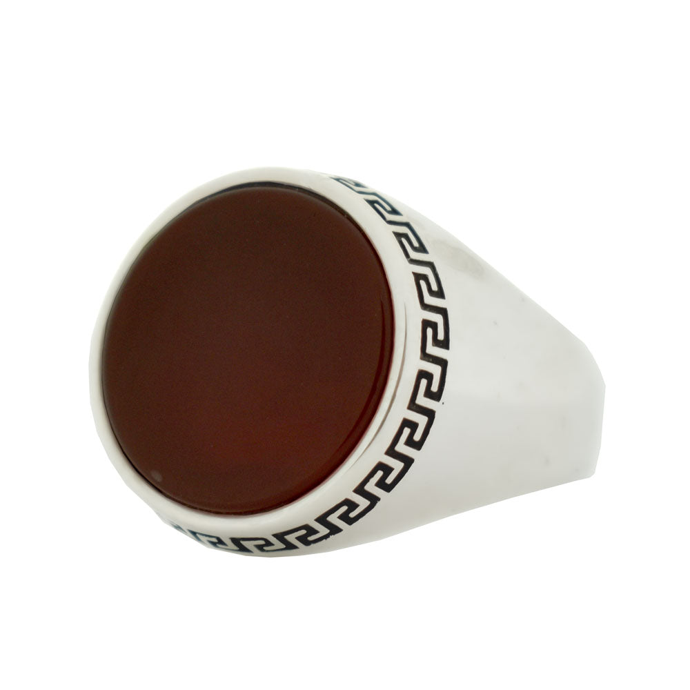 Greek Onyx Ring