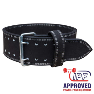 red powerlifting lever belt