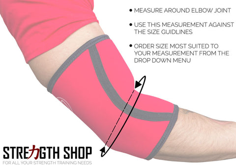 how to measure elbow sleeves