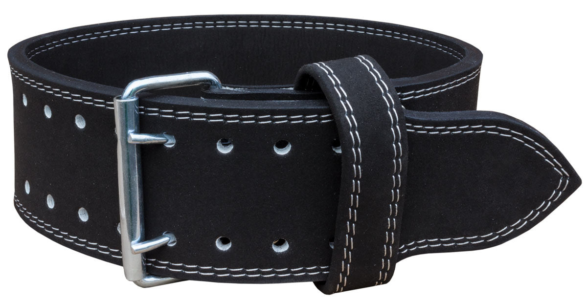 Strength Shop 13mm Double Prong Belt - IPF Approved - Black - Strength Shop USA