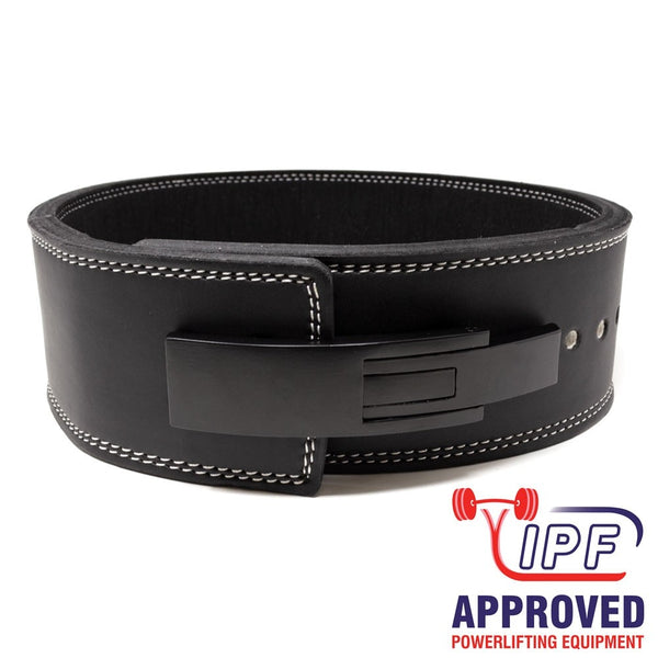 Strength Shop Embossed 13mm Lever Belt - IPF Approved - Strength Shop USA