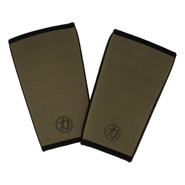 Strength Shop 7mm Inferno Knee Sleeves - OD Green - IPF Approved - Strength Shop USA