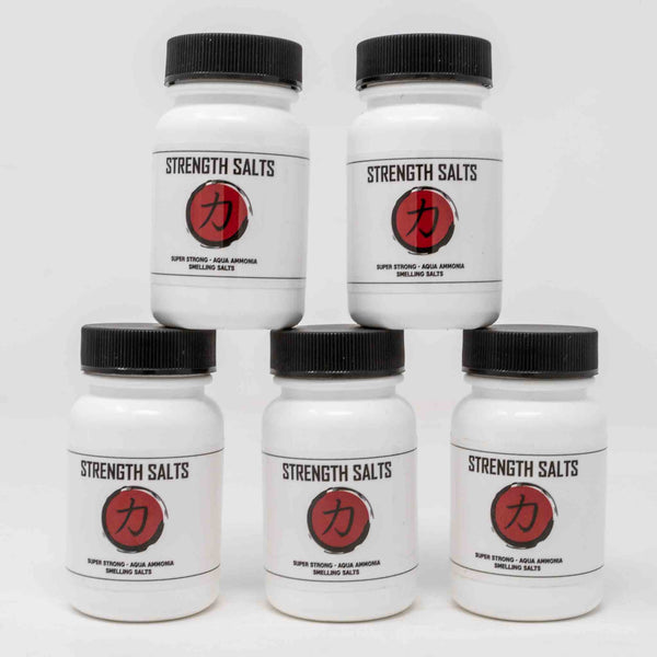 Strength Salts Ammonia x 5 TUBS - Strength Shop USA