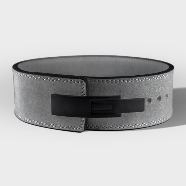 Strength Shop 10mm Lever Belt - IPF Approved - Grey - Strength Shop USA