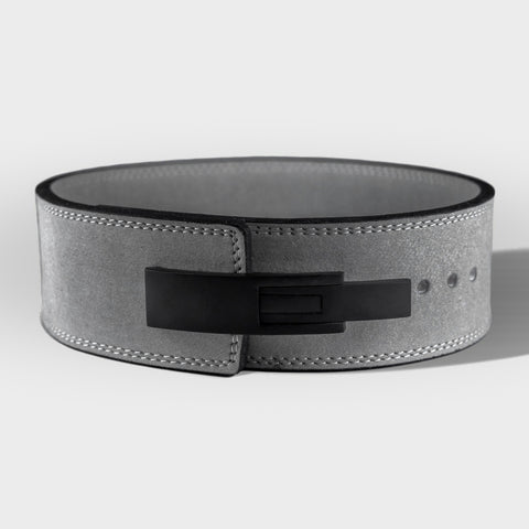 Strength Shop 13mm Lever Belt - IPF Approved - Grey - Strength Shop USA