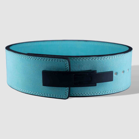 Strength Shop 10mm Lever Belt - IPF Approved - Teal - Strength Shop USA