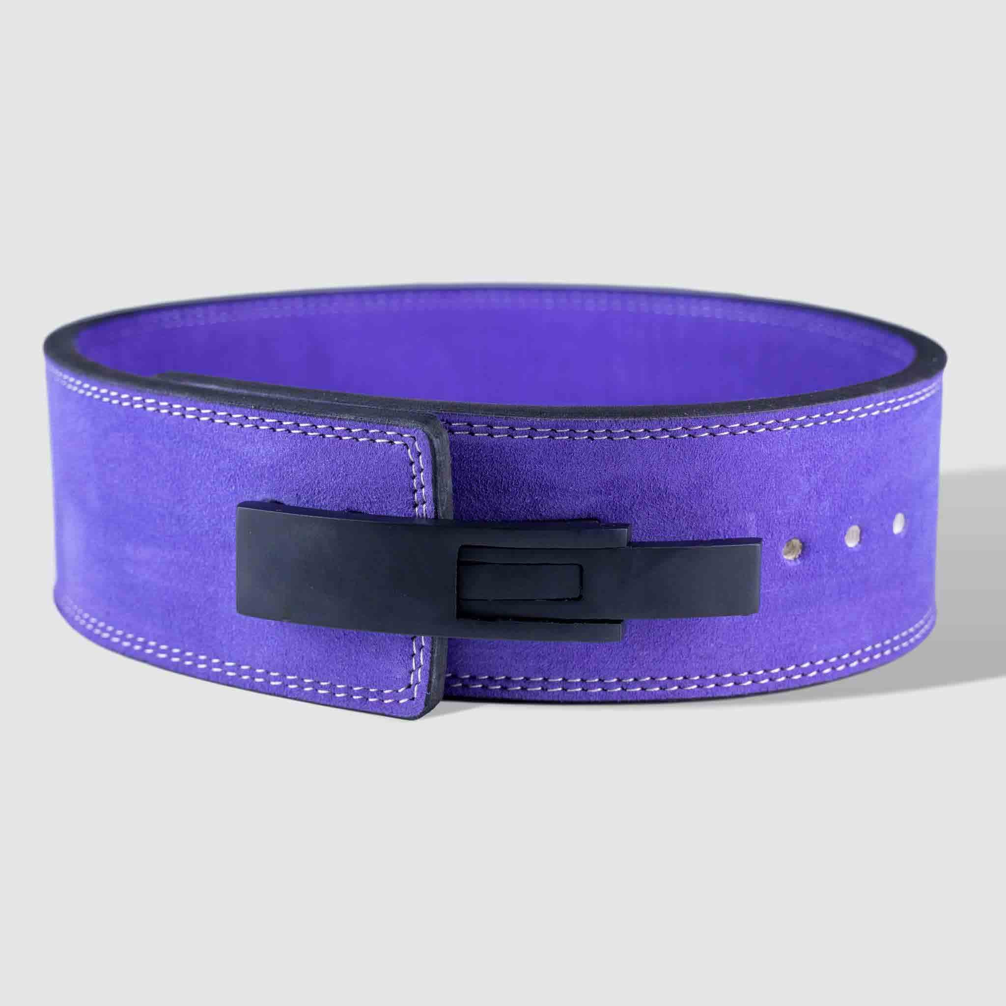 Strength Shop 10mm Lever Belt - IPF Approved - Purple - Strength Shop USA